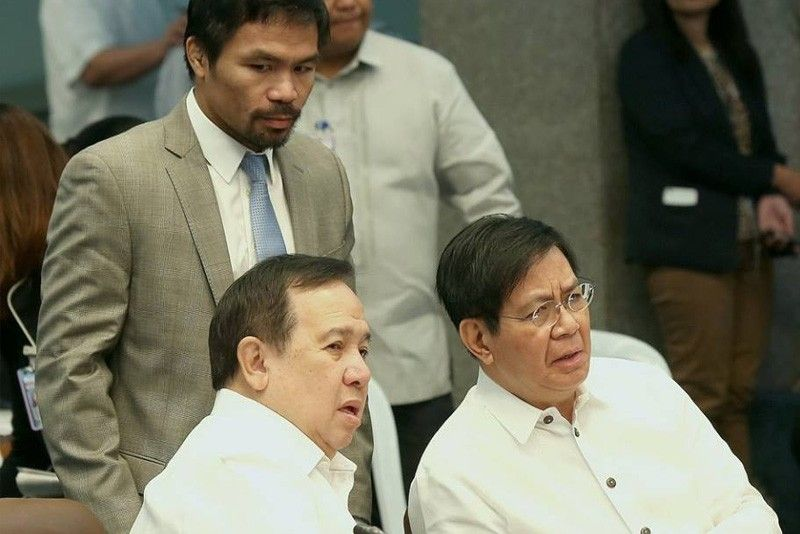 Lacson won't sign Gordon's draft Dengvaxia report | Philstar.com