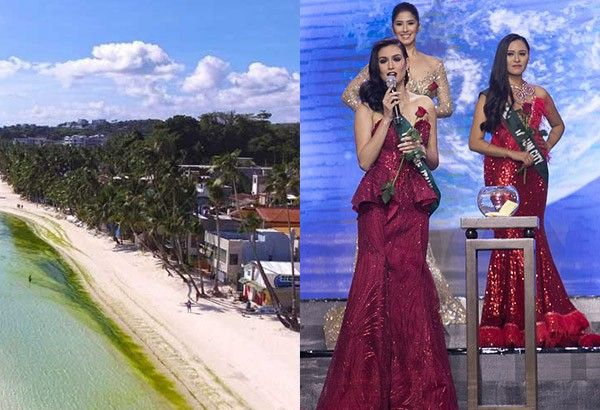 Boracay rehab hot topic at Miss Earth Philippines Q&A