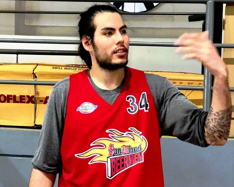 Standhardinger trying to fit to Beermen's system first