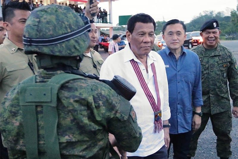 Duterte: ICC, EU want me behind bars for 'genocide' of 'bunch of criminals'