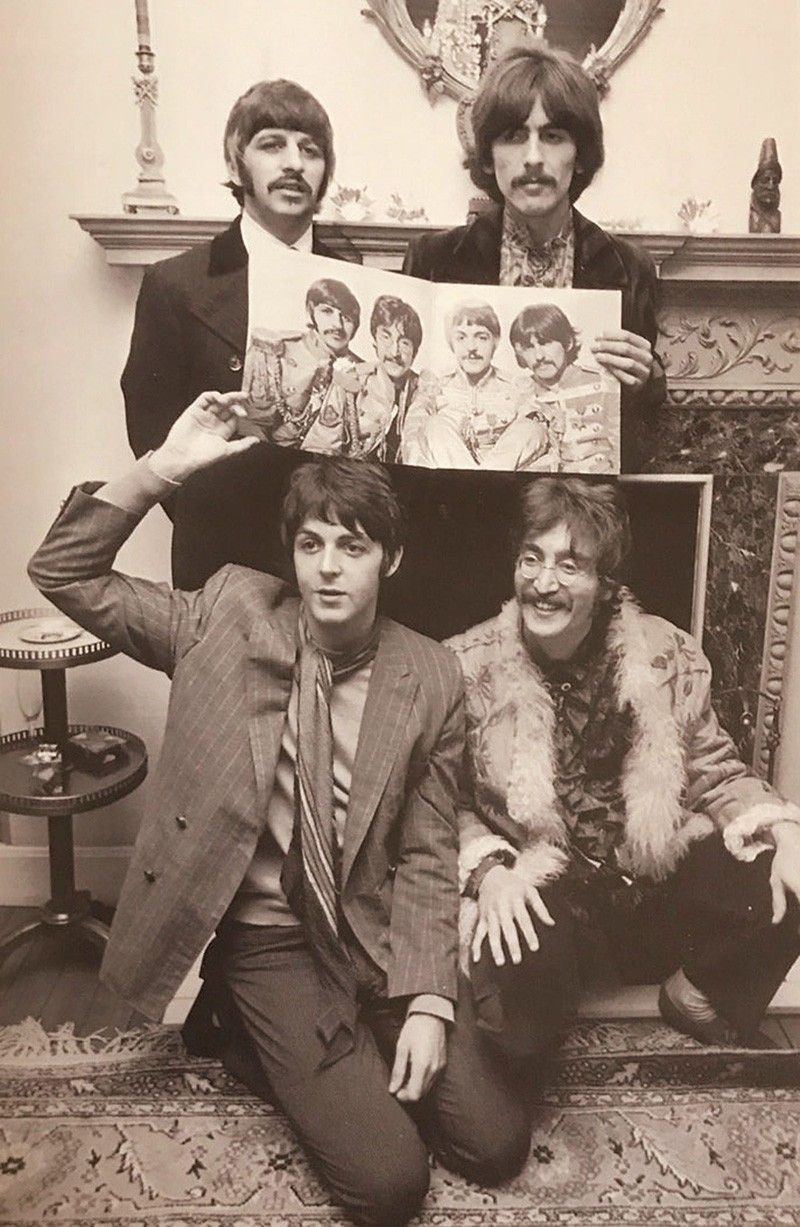 How the beatle song in my life came to be philstar photos of the beatles one of them showing george harrison giving john lennon a haircut from the 2010 rolling stone magazines special collectors edition ccuart Gallery
