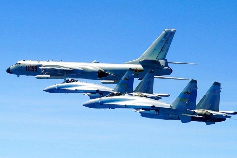 Palace 'seriously concerned' over China bombers