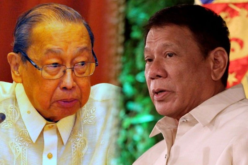 Duterte wants private talk with Joma