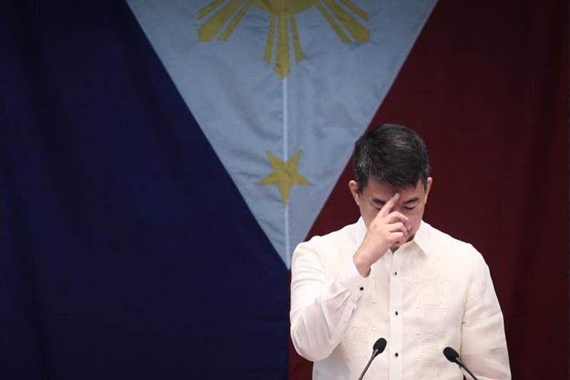 Pimentel steps down as Senate president, nominates Sotto