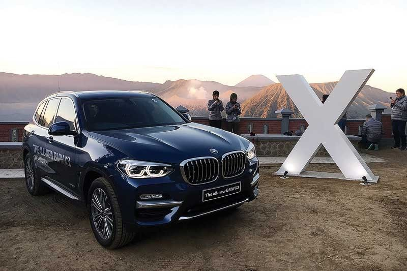 Bmw X Series >> Playing With Bmw S X Series In A Volcanic Sandbox Philstar Com