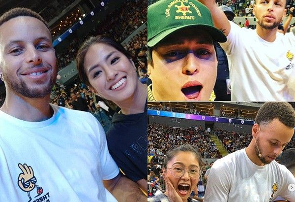 Stars swoon over returning NBA champ Stephen Curry