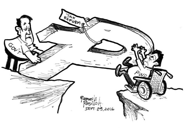EDITORIAL - No real reform in reform tax package