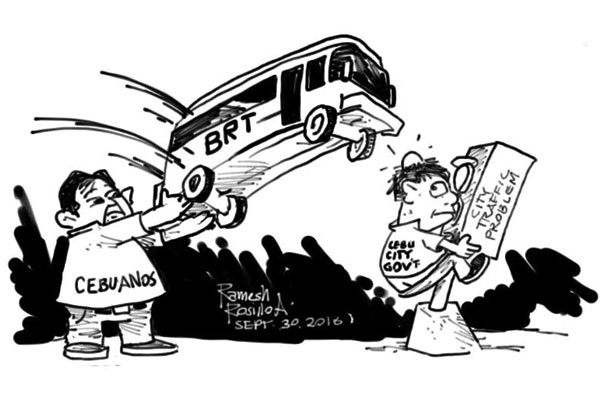 EDITORIAL - Rethink the BRT while there is still time