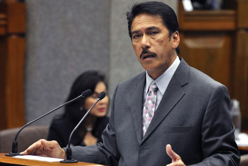 Senate Majority Leader Vicente Sotto III pushed yesterday for harsher provisions in the country's anti-terrorism law and the restoration of the death penalty to help the government confront extremist groups and criminal syndicates better. File