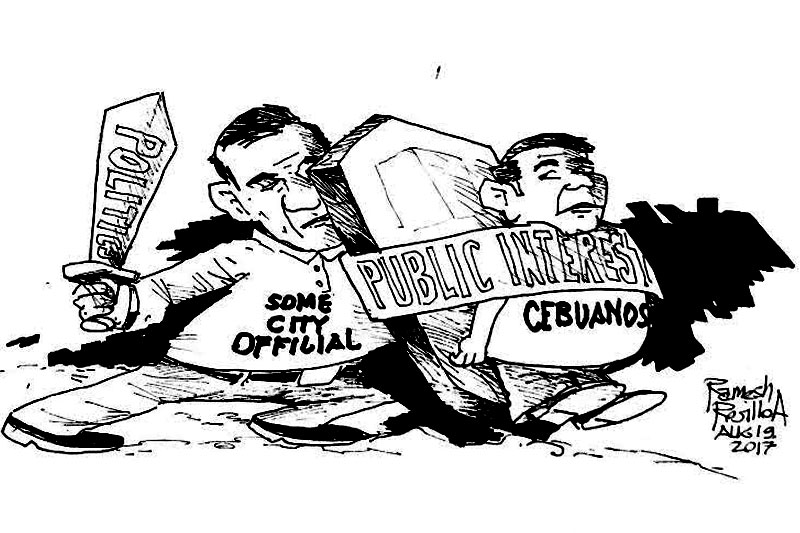 EDITORIAL - When public interest so demands, or does it?