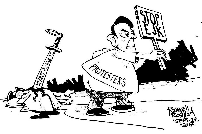 EDITORIAL - On the day they protested against EJKs