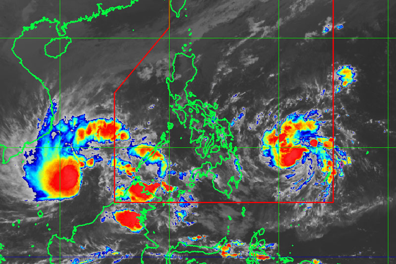 Philippines tropical storm: almost 90 dead