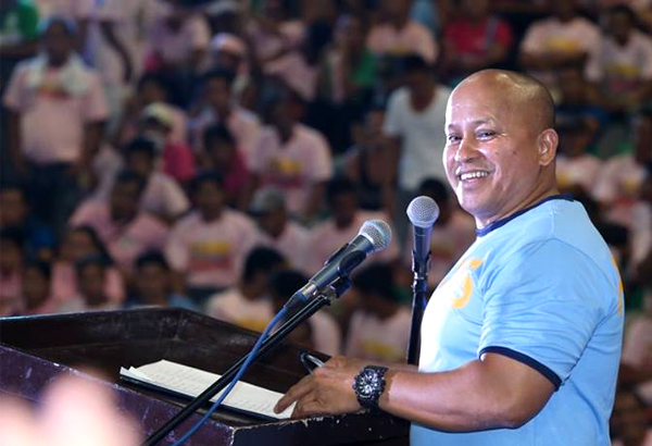 "Philippine National Police Director General Ronald dela Rosa said the police force had ""many victories"" in 2017. He remarked this despite the criticisms over the alleged police abuses in the government's bloody campaign against illegal drugs. File Photo"