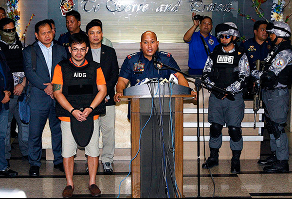 De Lima predicts grim fate for alleged drug lord Kerwin Espinosa