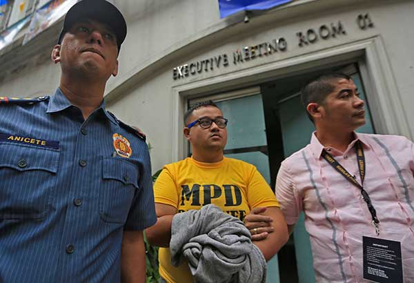 John Paul Solano, a member of the Aegis Juris Fraternity, was called by his fraternity brothers to try to revive neophyte Horacio