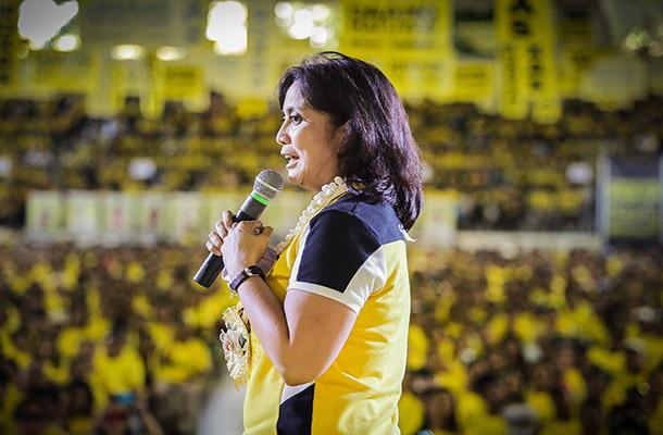Nakakuha si LP vice presidential candidate LeniRobredo ng 305 boto o 30.78 percent, dalawang boto ang lamang kay Ferdinand Marcos Jr. lenirobredo.com