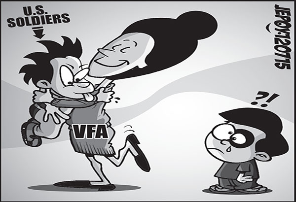 visiting forces agreement Bulatlat contributors april 22, 2013 1 comment visiting forces agreement by carol pagaduan-araullo streetwise | businessworld the philippine government's quick and.