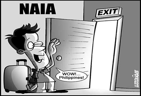 EDITORYAL  - Hindi na kabilang ang  NAIA sa worst airports