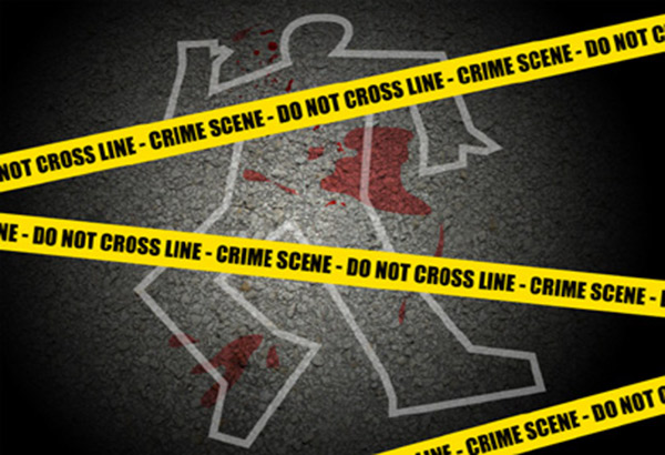 A tricycle driver was gunned down in a busy road in Antipolo City.