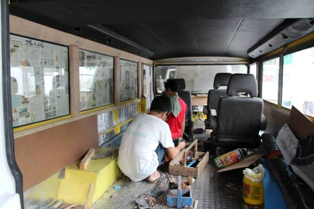 Sarao Bares First Air Con Next Generation Jeepney Project