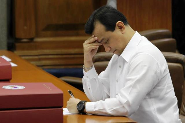This time, Sen.Antonio Trillanes IV is accused of suggesting to the military to shoot President Rodrigo Duterte amid charges of hidden wealth during a privilege speech in the Senate last month. File