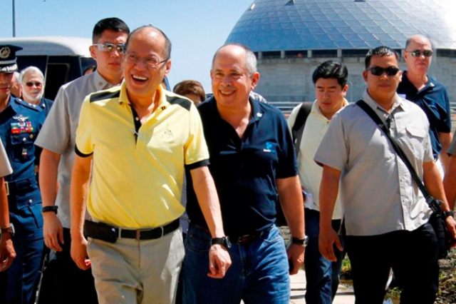 President Benigno Aquino III led the inauguration of the 300-megawatt Davao Baseload Power Plant that the Aboitiz Power Corp. put up in Davao. PCOO