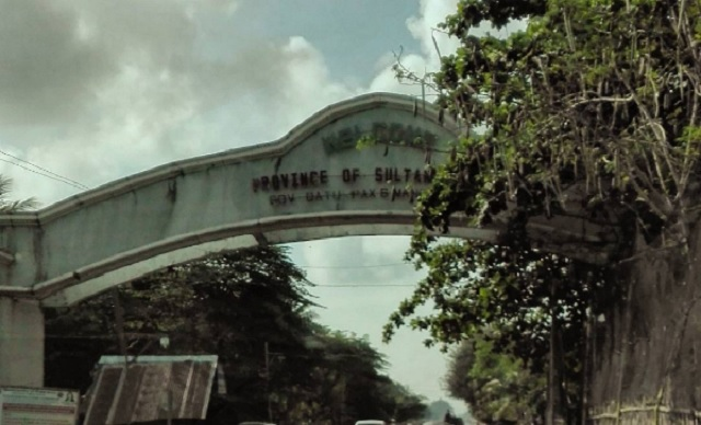 An arch welcoming visitors to Sultan Kudarat province, where Malisbong can be found. Philstar.com, file