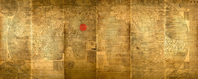 Chinas old maps negate own historical claims over spratlys map of the myriad of countries of the world created by jesuit priest matteo ricci in 1602 who was commissioned by ming emperor wanli ricci moved china to gumiabroncs Image collections