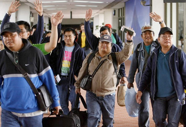 filipino overseas contract workers in the us essay Filipino workers (ofws) was reached in 2006, which includes both land-based  workers and sea-  response to the us government's trafficking in persons report  which cited japan as a country which was  in summary.