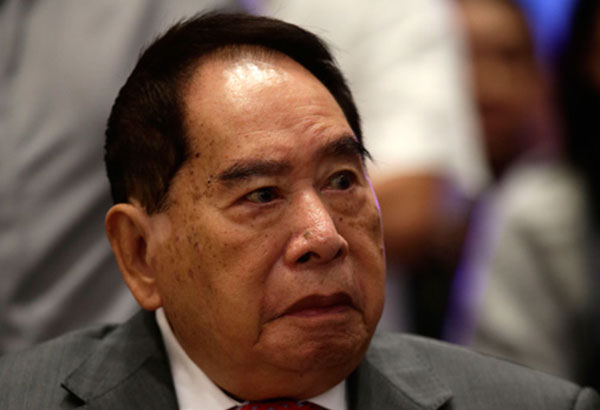 Ninety two-year-old businessman Henry Sy has been named by Forbes magazine as the world's richest Filipino for ten consecutive years. Philstar.com / File