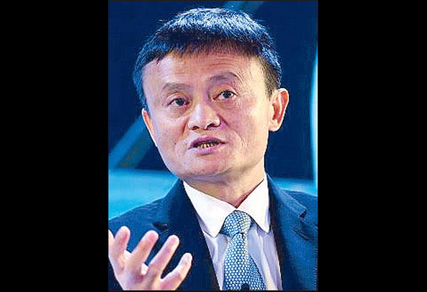 Ant Financial Services Group, the financial technology company controlled by Alibaba's Jack Ma, is making a strategic investment to get a 45-percent stake in Globe Fintech Innovations Inc. (Mynt), a unit of Globe Telecom Inc., to help accelerate financial inclusion in the Philippines. File photo