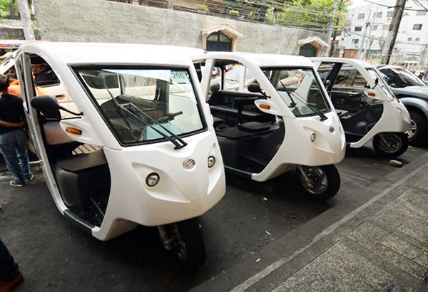 Manila Goes Eco Friendly No More Pedicabs And Trikes By