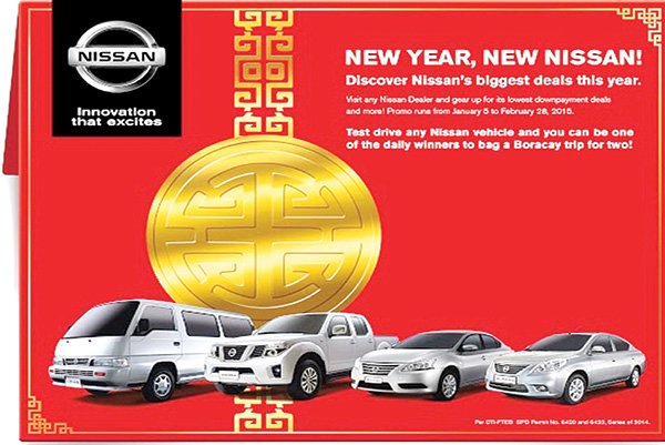 Pitboard Nissan Opens 2015 With New Year New Nissan