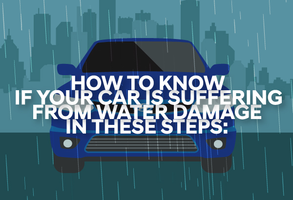 If your car is lucky to have survived driving in floodwaters, don't rejoice yet.It is best to know early if your car is suffering from water damage.