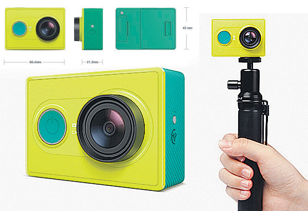 Xiaomi Yi Action Camera Takes On The GoPro Technology
