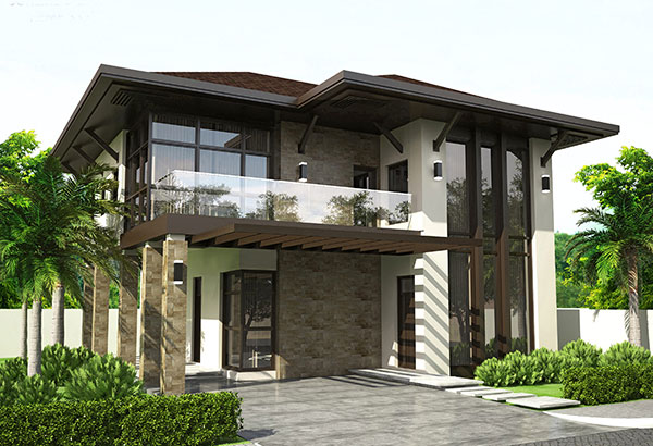 House model and designs philippines home design and style Estate home designs