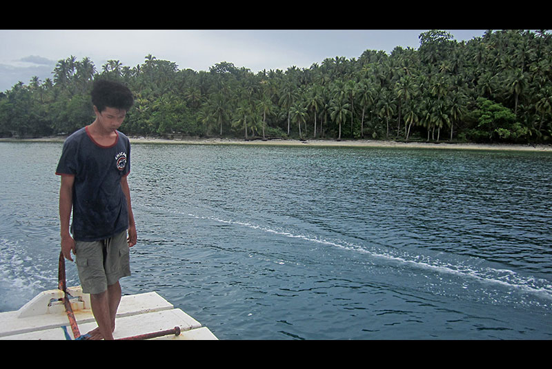 General Island residents in Surigao del Sur have been tapped to be guardians of the fish sanctuary.  Ben Serrano