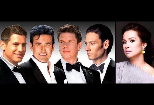 Il divo all set for resorts world concert entertainment - Il divo news ...
