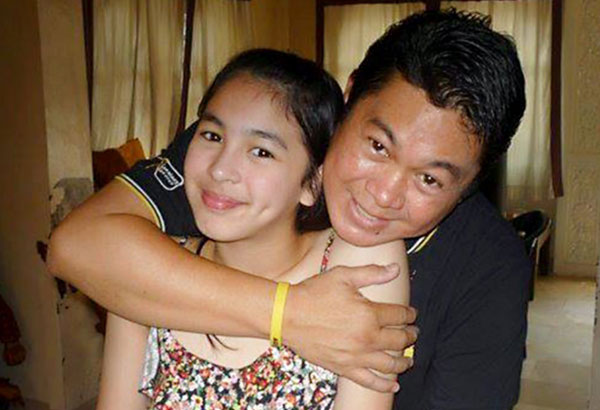 Dennis Padilla and his daughter Julia Barretto during happier times ...