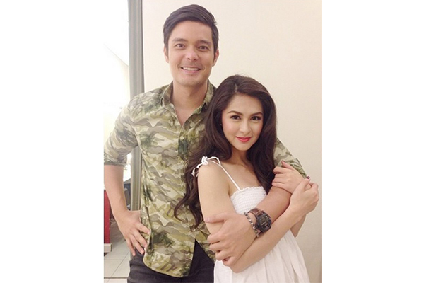 Dingdong dantes and marian rivera photo taken from marian rivera s