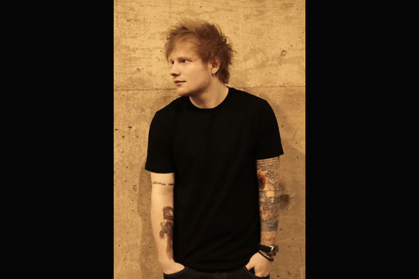 Ed Sheeran is Spotify's most streamed artist of 2014. PR Photo