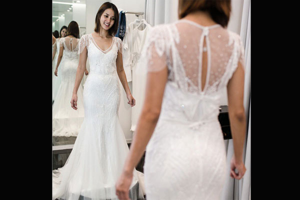 IN PHOTOS: Celebrity wedding gowns | Entertainment, News, The ...