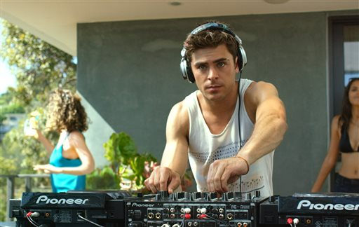 "Zac Efron in a scene from Warner Bros. Pictures' and Studiocanal's romantic drama, ""We are Your Friends."" Warner Bros. Entertainment via AP"