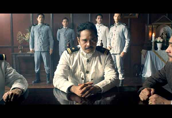 John Arcilla in a scene from Heneral Luna, the country's official submission to the Best Foreign Language Film Category of the 2016 Oscars