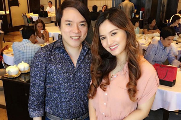 Deniece Fashion Pulis Patch Things Up Entertainment News The Philippine Star Philstar Com
