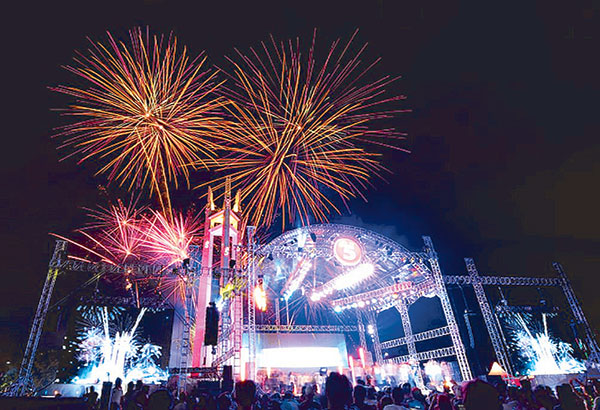 Perfect TV5 New Year Countdown At The Quezon Memorial Circle