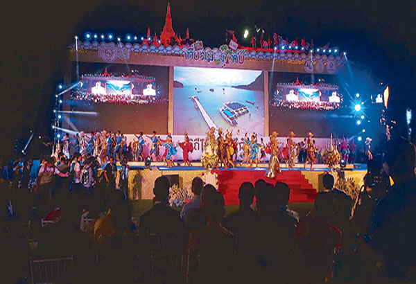 The 36th Thailand Tourism Festival (TTF) was kicked off by groups of dancers from the country's different regions