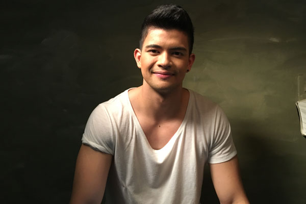 Rayver Cruz reveals his talent in singing, which is unknown to many. Philstar.com/Joyce Jimenez