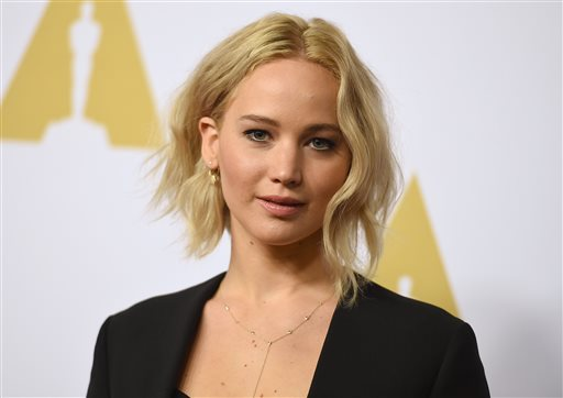 Jennifer Lawrence arrives at the 88th Academy Awards Nominees Luncheon at The Beverly Hilton hotel on Monday, Feb. 8, 2016, in Beverly Hills, Calif. Jordan Strauss/Invision/AP