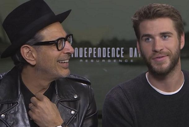 Jeff Goldblum and Liam Hemsworth sat down in an interview with The Philippines Star columnist Ricky Lo. Philstar.com